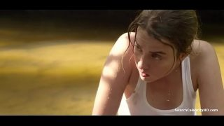 Adele Haenel Showing Her Boobs Outdoor & Makingout – The Combattants 4 min